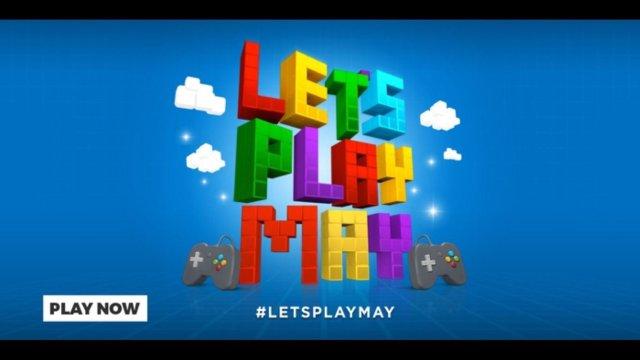 #LetsPlayMay