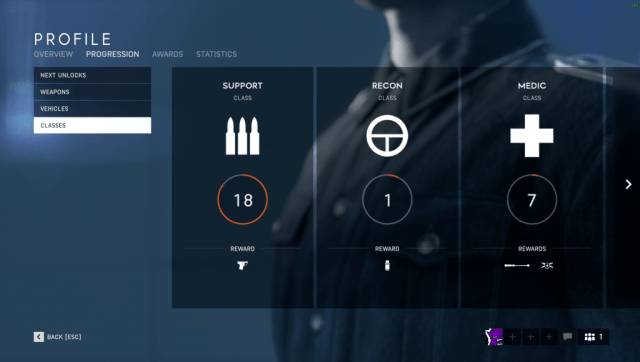 Battlefield V - Progression