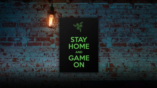 Razer stay home game on