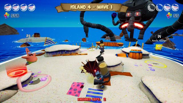 SpongeBob SquarePants: The Battle for Bikini Bottom - Re-hydrated. Horde mode.