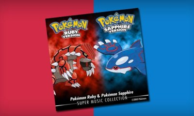 The soundtracks to Pokémon Ruby & Pokémon Sapphire soundtrack