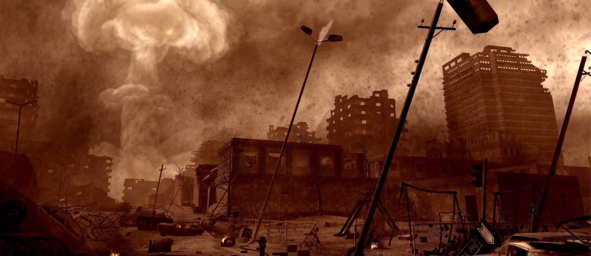 Call of Duty Nuclear Explosion