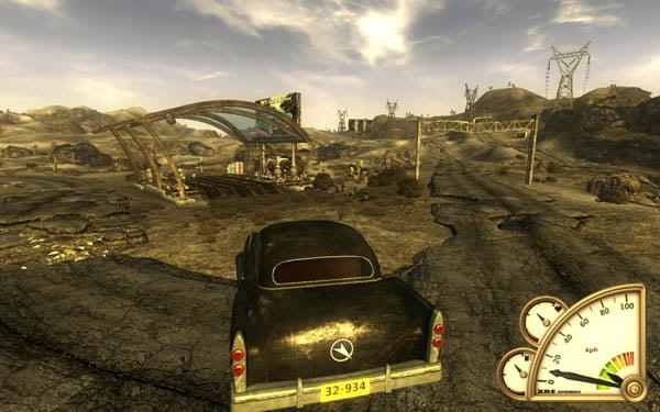 Fallout cars