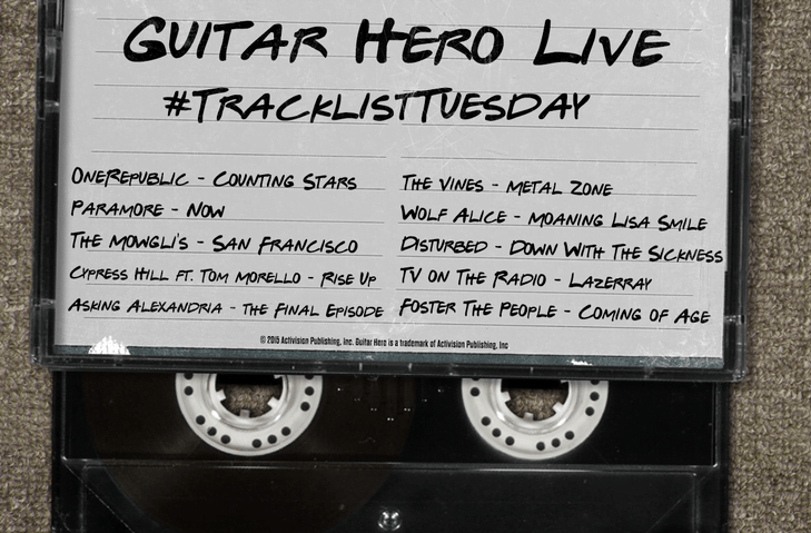 Guitar Hero 2 Tracklist : tracklist tuesday for guitar hero live thumbsticks ~ Hamham.info Haus und Dekorationen