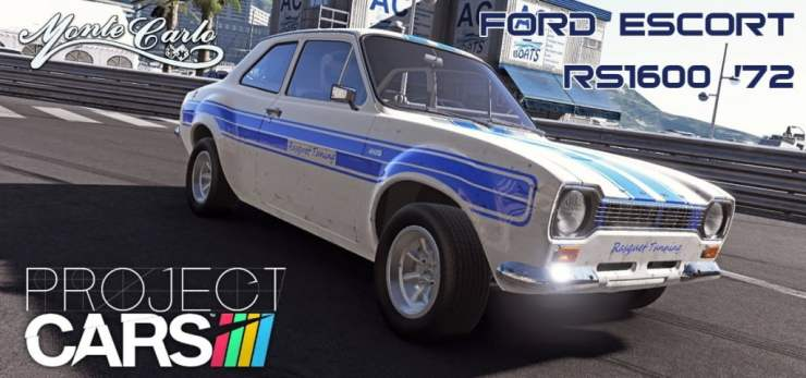 Project CARS Escort RS1600