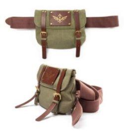 Zelda Triforce satchel
