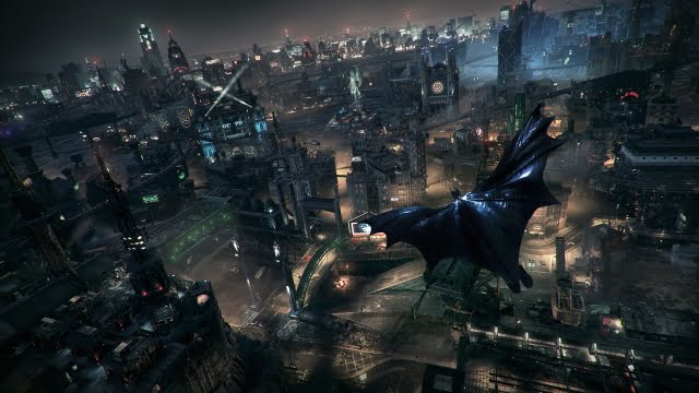 10 Best-looking games of 2015 - Batman: Arkham Knight