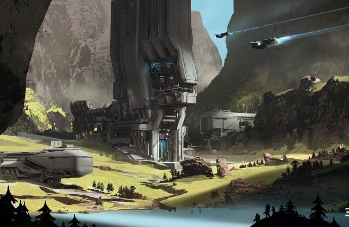 Halo 5: Guardians Mega Bloks concept art 02