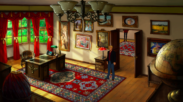 Broken Sword 5 – The Serpent's Curse – Office Interior