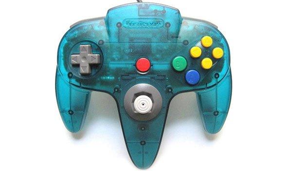 Nintendo 64 Blue