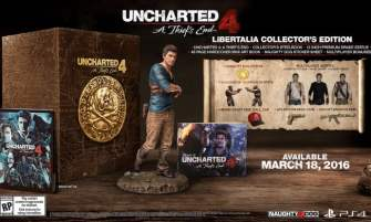 Uncharted 4 Special Editions