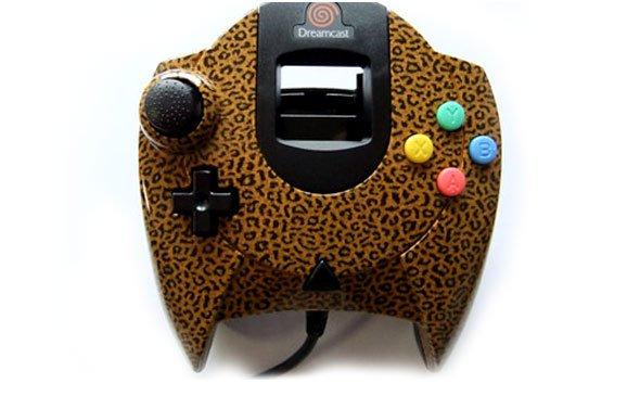 Sega Dreamcast - Leopard print edition