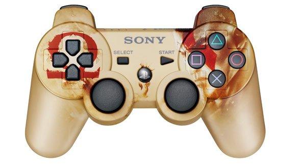 PlayStation Dual Shock 3 - God of War Ascension Edition