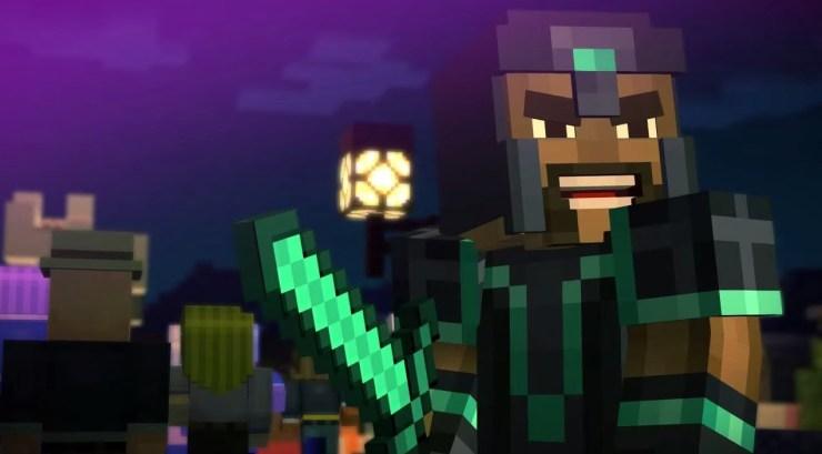 Should I play Minecraft Story Mode? Dave Fennoy