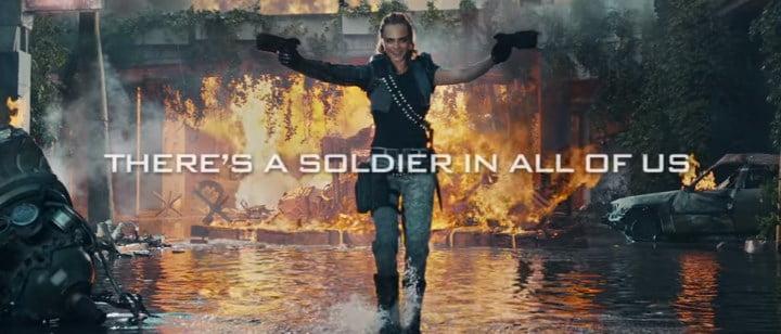 Black Ops III live-action trailer - Cara Delevingne