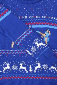 Best gaming Christmas Jumpers – Sagat vs Chun Li 02