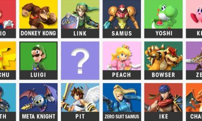 Super Smash Bros Ballot Character