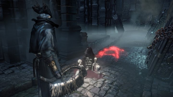 Bloodborne phantoms