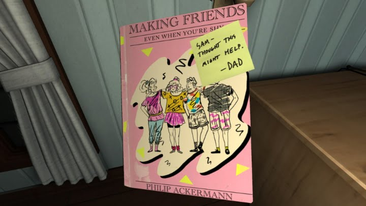 Gone Home 'Making Friends' screenshot