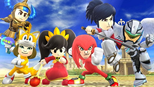 Mii Fighter Costumes Wave 6