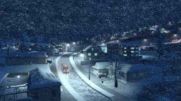 Cities: Skylines Snowfall 01