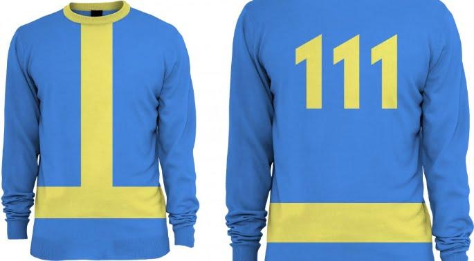 Vault 111 Fallout sweater