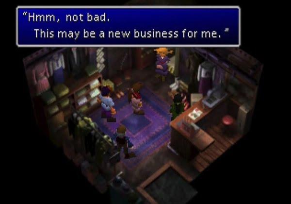 Final Fantasy VII Cloud dressmaker