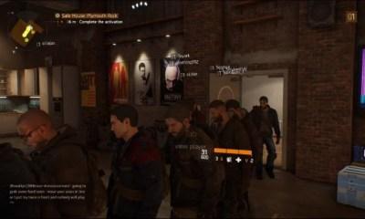 The Division queue