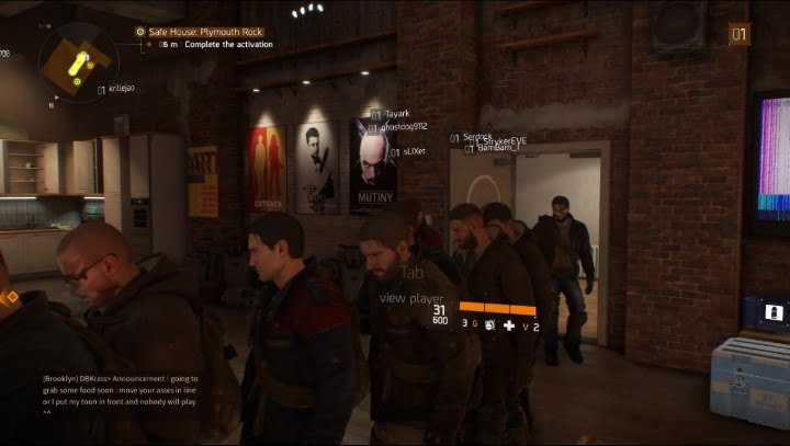 The Division queue