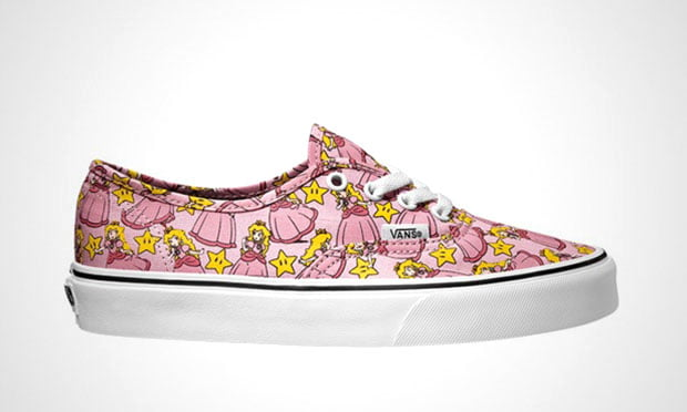 Vans Nintendo Princess Peach