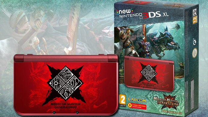 Monster Hunter Genearations New 3DS XL