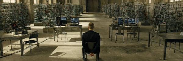 Skyfall server room
