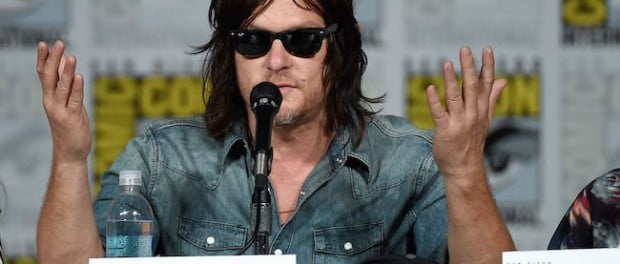 Norman Reedus shrugs