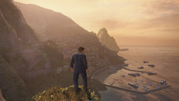 Uncharted 4 photo mode - harbour view
