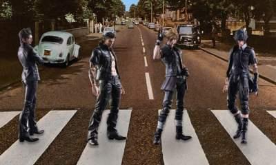 Final Fantasy XV at Abbey Road