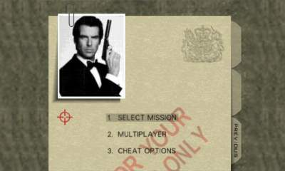 GoldenEye 007 Mission Briefing