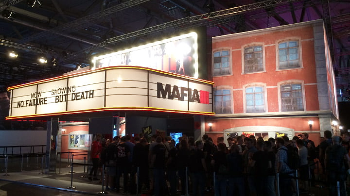 Mafia III booth - gamescom