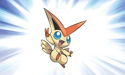 Mythical Pokemon Victini