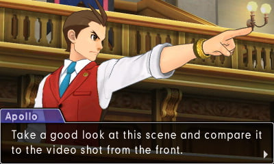 Phoenix Wright: Ace Attorney - Spirit of Justice screenshot 1