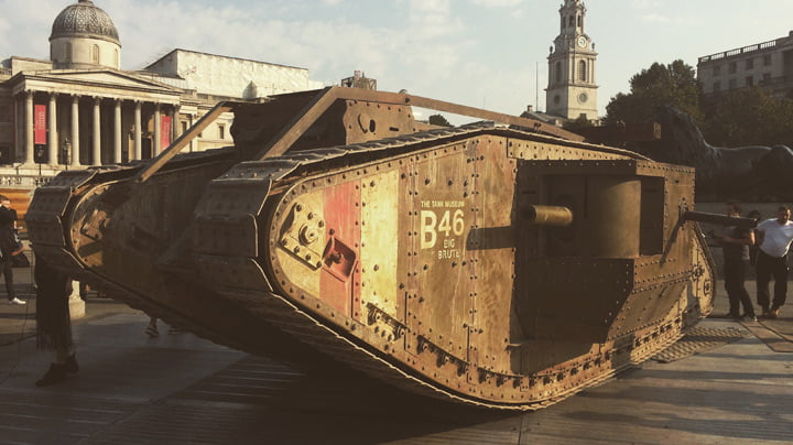 100 Years of Tanks