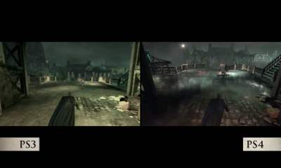 Batman: Return to Arkham graphics comparison