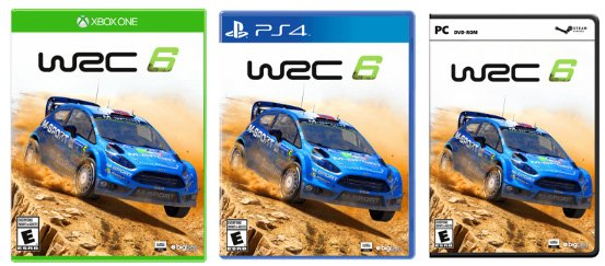 Ford Fiesta RS WRC 6 cover art