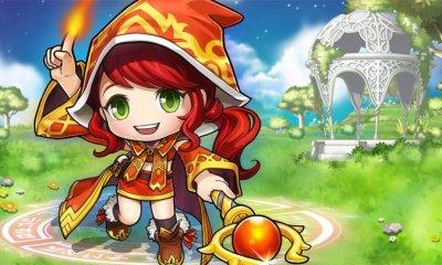 Pocket MapleStory - Blaze Wizard