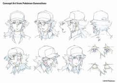 Pokemon Generations - Concept art 2