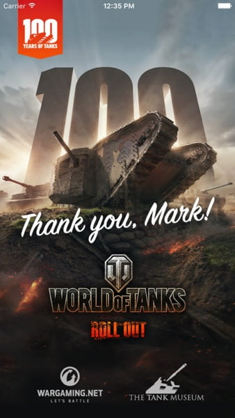 Tank 100 - Screenshot