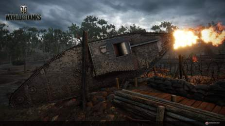 World of Tanks - Mark I