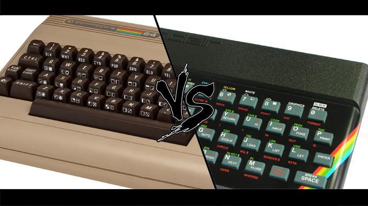 ZX Spectrum vs Commodore 64