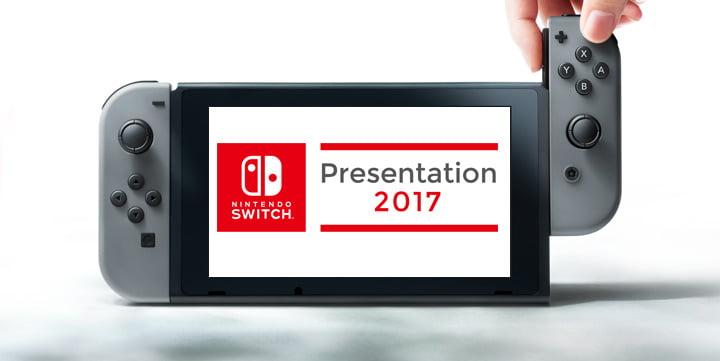 Resultado de imagen de Nintendo Switch presentation