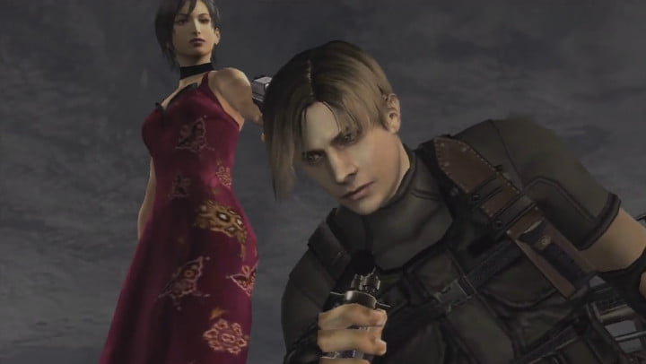 Resident Evil 4 Leon and Ada