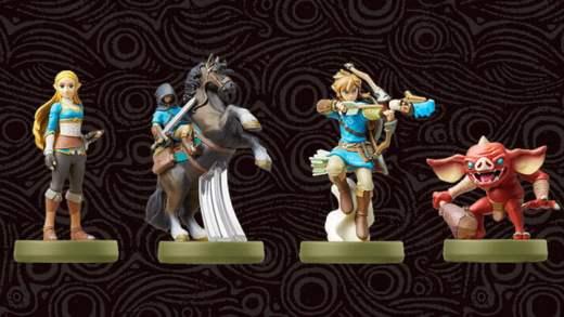 Legend of Zelda: Breath of the Wild - Amiibo